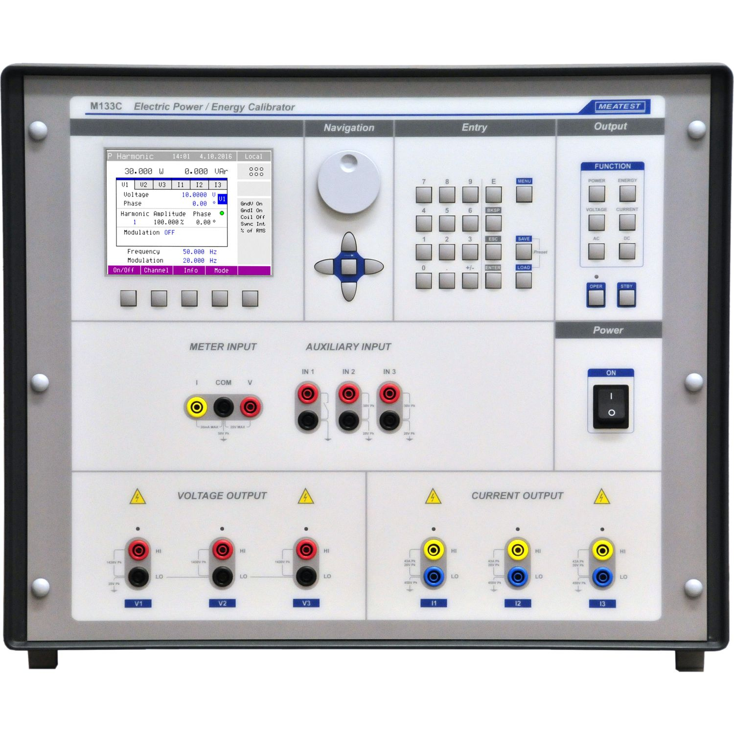 MEATEST M133C Power And Energy Calibrator