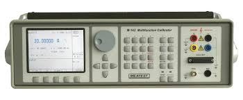 MEATEST M142 MULTIFUNCTION CALIBRATOR WITH BUILT IN PROCESS MULTIMETER 10PPM